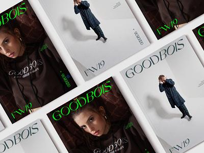 Goodbois Lookbook typeface design photography brand identity typography graphic design logo design logo identity art direction design branding look print paper lookbook