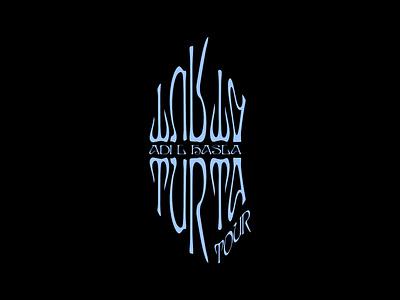 Turta Tour 2020 icon cover art print logotype helsinki music illustration abstract graphic design logo typography logo design identity art direction design branding