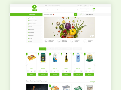 eCommerce Supermarket e-commerce supermarket supermarket responsive web design e-commerce shop responsive design responsive website web design ux design e-commerce website e-commerce e-commerce design ui design