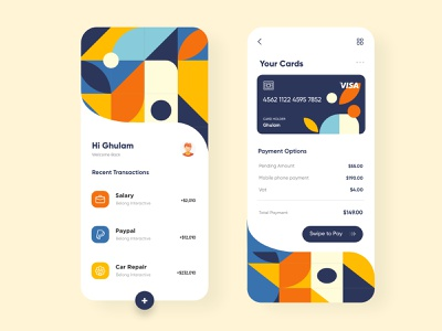 Banking and Finance APP UX-UI Design mobile app ui design minimal mobile ux ui design mobileapps mobile ui mobileapp mobileappdesign app interface ui uiux ux