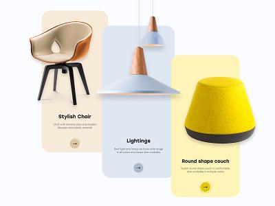 Furniture Onboarding UI Design mobileappdesign mobileapp mobile app design ux uiux ui interface app furniture mobile ui mobile application mobile apps mobile illustration minimal mobile app