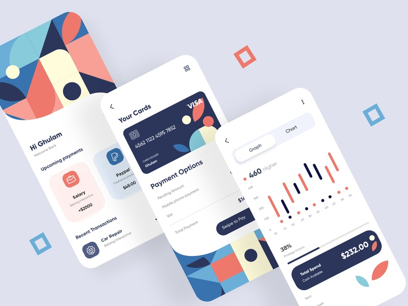 Finance App UX-UI Design mobile ui design mobile app development mobile ui app design banking app app finance app web deisgn branding typogaphy cards mobile ui kit web design mobile application mobile apps mobile design mobile app design mobile mobile uiux mobile app