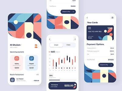 Finance App UX-UI Design mobile app ui design minimal mobile ux ui design mobile apps mobile ui mobileapp mobileappdesign app interface ui uiux ux