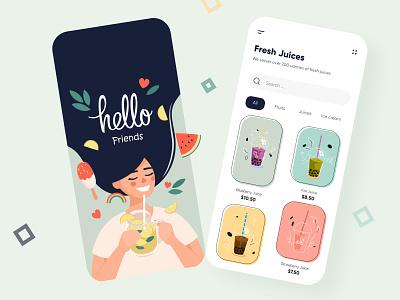 Juice Mobile App UX-UI Design apps cards ui mobileappdesign app design application app mobileuxui freshjuice juices productdesign web webdesign uxui design mobile app design mobileapps mobileui mobile app mobileapp mobile