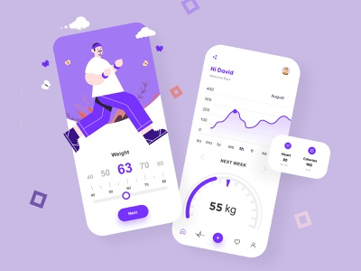 Fitness App UI Design mobile app ui design minimal mobile ux ui design mobile apps mobile ui mobileapp mobileappdesign app interface ui uiux ux