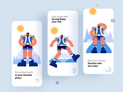 Fitness Onboarding UI Design mobile app ui design minimal mobile ux ui design mobile apps mobile ui mobileapp mobileappdesign mobile app design app interface ui uiux ux