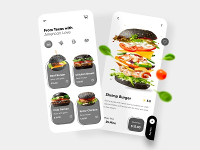 Food Mobile App Design app mobileappdesign mobile ui mobile apps ux ui design mobile minimal ui design mobile app interface ui uxui ux