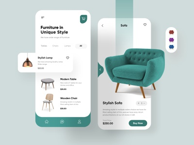 Furniture Mobile App Design mobile app ui design minimal mobile ux ui design mobile apps mobile ui mobileapp mobileappdesign app interface ui uiux ux