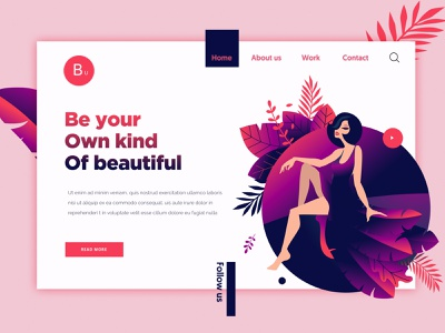Illustration Concept uae ui designer dubai ui designer web banner graphics amazing design ux designer web design artwork clean design minimal design dubai designer ui design