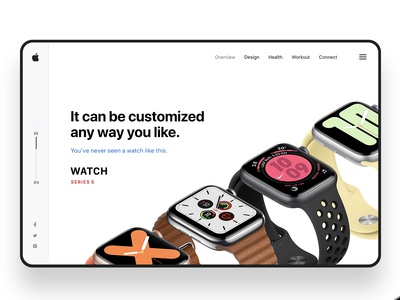 Apple watch Series 5 Design Concept