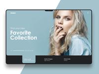 Mooboo Online Shooing website UI Design