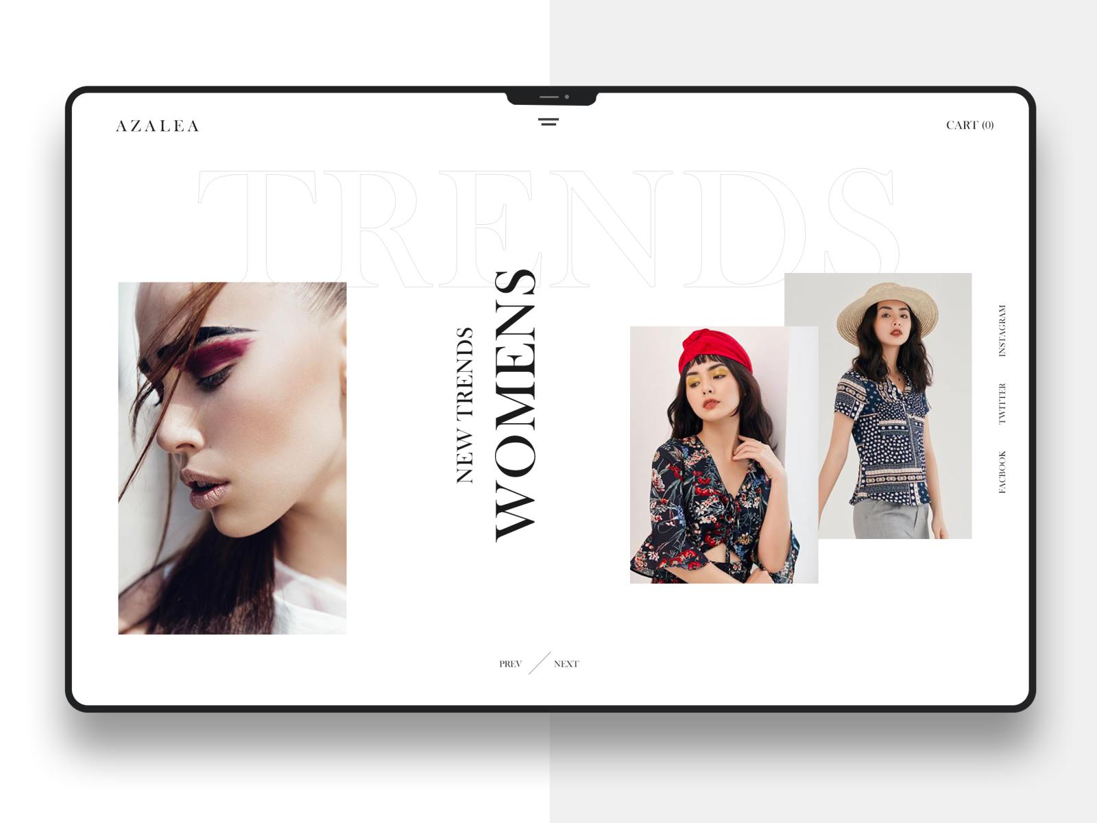 Fashion Web Banner Design By Ghulam Rasool On Dribbble