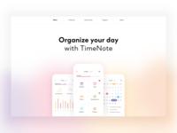 TimeNote Web Design