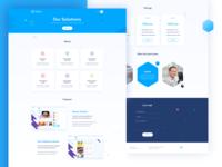 Software house website design