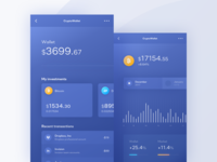 CryptoWallet - mobile application