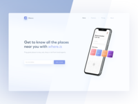 Where.is - Landing Page