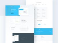 Finance App Landing Page