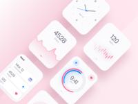 Watch OS - Light theme