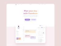 Timenote WWW - Redesign