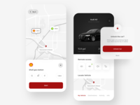 Audi Remote Car Application