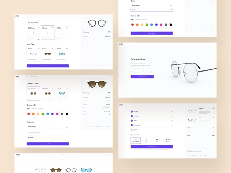 Eyeglasses Configurator