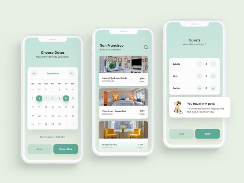 Room Rental App