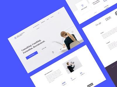 Life & Business expansion branding uidesign ui web design website
