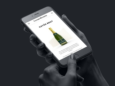 Canard-Duchêne - Page product mobile version champagne ui mobile