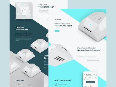 Triglav startup voila devices smart home app simple rwd webdesign ux ui smart home triglav