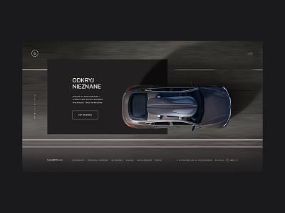 Bolee luxury design order webdesign dark ecommerce landing roof cars luxury