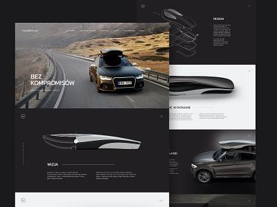 Bolee luxury sport cars ui dark webdesign web voila bolee