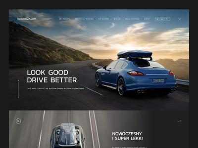 Bolee design voila landingpage black ux ui web webdesign dark luxury cars bolee