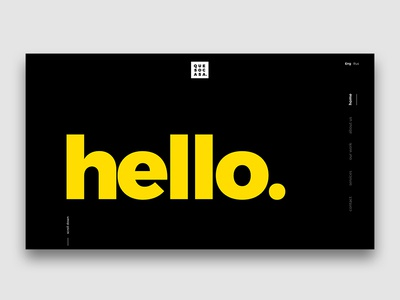 Quesocasa Digital Creative Agency Landing Page home hello page agency creative digital landing webdesign web uxui