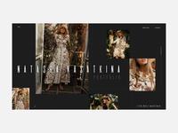 Model Portfolio Website