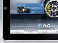 Porsche iPad App
