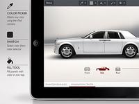 Rolls Royce App Concept