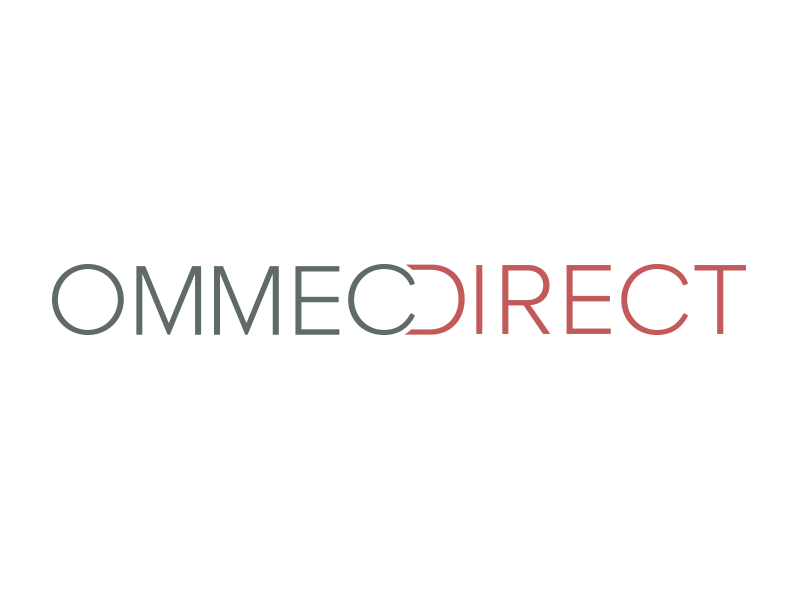 Ommec Direct logo logo branding