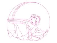 Helmet trace