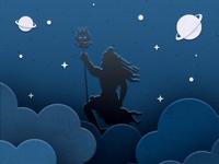 Lord Shiva Illustration