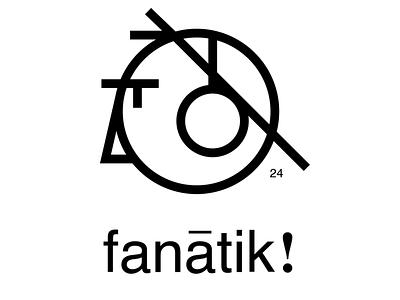 Fanatik music shop logo design logo minimal music logo