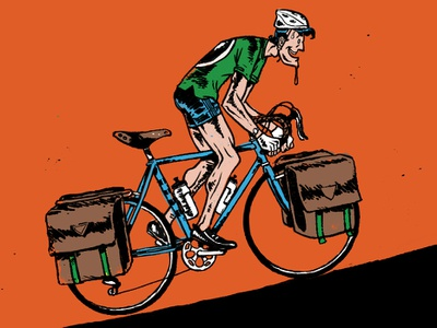 Bicycle Tourist traveling cycling biketourist bicycle