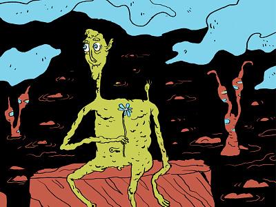 Pretty boy Lloyd lava illustration