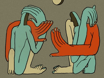 Conversation conversation talking illustration