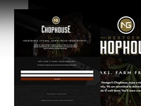 NG Chophouse Landing Page - Coming Soon