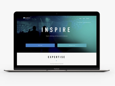 Sardis Events Website Design website design av production company event events