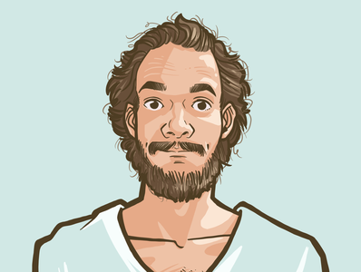 Portrait Illustration 6 comic doodle portrait comic art illustration