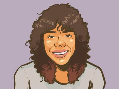 Portrait Illustration 9 portrait doodle design comic art comic illustration
