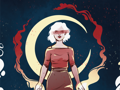 Sabrina Spellman devil fanart design comic art comic illustration witch sabrina