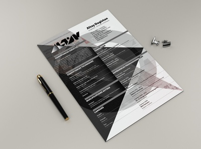 Graphic Designer CV  / Resume