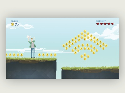 8bit Email Marketing video game game computer marketing illustration 8bit